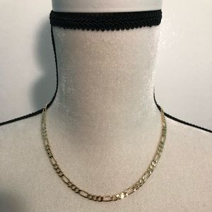 """Other - 14K Gold Filled Figaro Chain 5MM 18"""" New"""